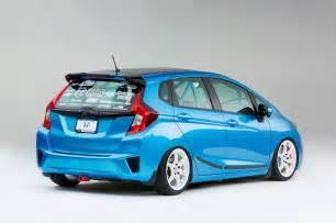 Custom Honda Fit 9 Custom 2015 Honda Fit Hatchbacks Debut At Sema