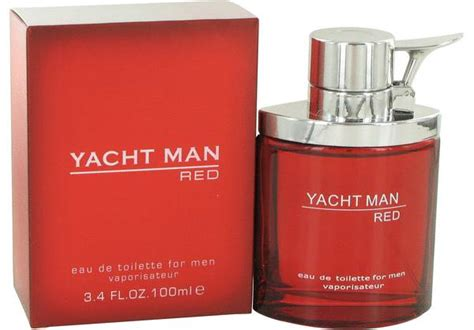 yacht man yacht man red cologne for men by myrurgia