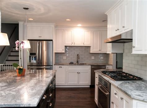 Houzz Kitchen Island Lighting by Split Level Renovation