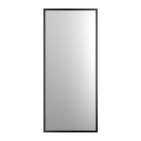 ikea mirrors stave mirror black brown 27 1 2x63 quot ikea