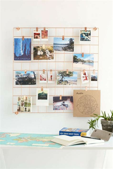 diy home organisation ideen fotowand selber machen ideen f 252 r eine kreative wandgestaltung