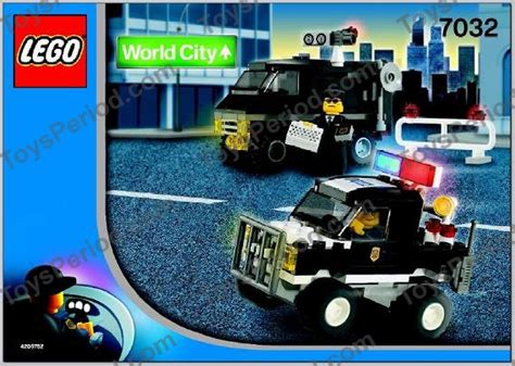 Special Lego World City 7032 4wd And Undercover lego 7032 highway patrol and undercover set parts inventory and lego