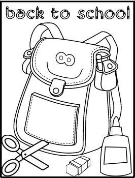 back to school coloring page kindergarten 120 best kids back to school crafts images on pinterest