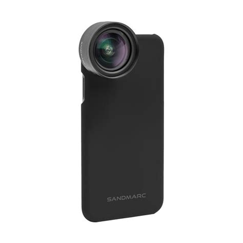 wide lens edition for iphone xs xs max xr x 8 and 7 sandmarc