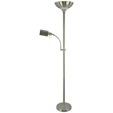 Torchiere L With Reading Light by Grandrich 174 55w Spectrum Torchiere And 20w Reading