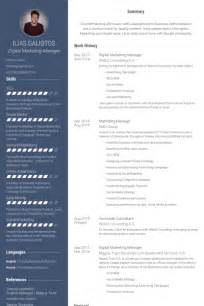 Digital Designer Sle Resume by Digital Marketing Resume Sles Visualcv Resume Sles Database