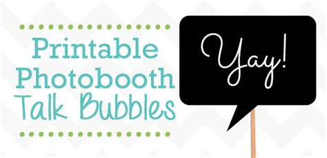 printable photo booth props words free printable photobooth props talk bubbles frugalful