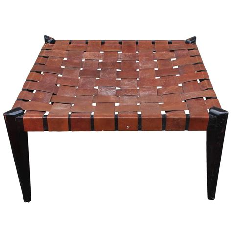 large square leather ottoman fabulous large square woven leather bench or ottoman at