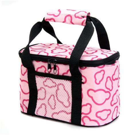 Lucky Baby Vibee Travel Insulated Mini Holdall insulated and water proof lining lunch box bag cooler tote