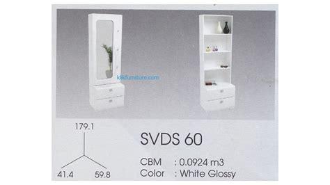 Meja Rias Pro Design meja rias minimalis putih svds 60 svan pro design