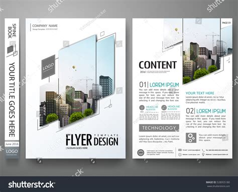 layout portfolio a4 portfolio design template vectorminimal brochure report