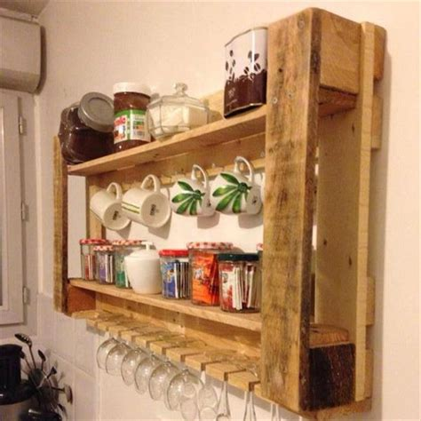 kitchen rack ideas inspiring wooden pallet kitchen ideas ideas with pallets