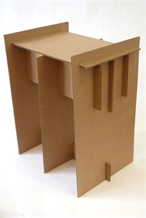 cardboard chair project 2009 by daniel chow at