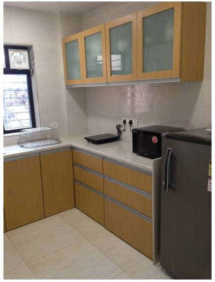 1 Room Kitchen In Vile Parle West by 2 Bedroom Serviced Apartment In Vile Parle East