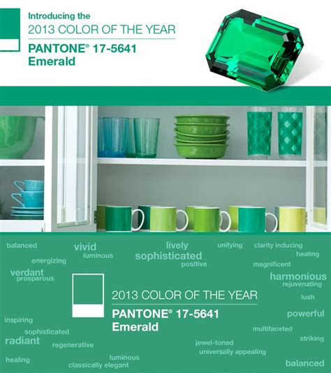 pantone color of the year 2012 emerald 2013 pantone s color of the year 33 bridges