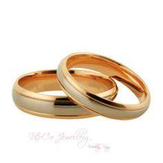 Cincin Kawin Nikah Tunangan Pasangan Perak Lapis Rosegold cincin tunangan perak sepasang nikah cpg2171 cincin perak lapis emas kerajinan kotagede