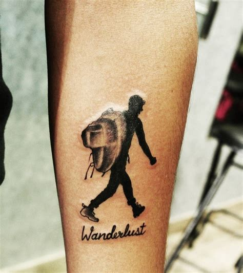 backpacker tattoo 23 inspiring and awesome travel ideas surf and