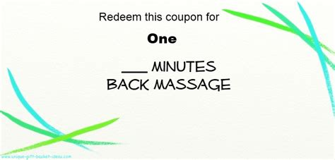 printable love massage coupons massage coupon book coupon code for compact appliance