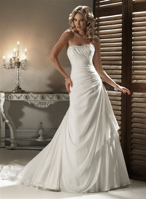 21 gorgeous a line wedding dresses ideas