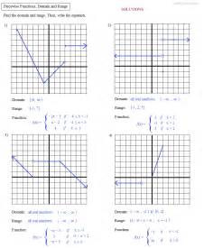 Piecewise functions domain and range additionally domain and range