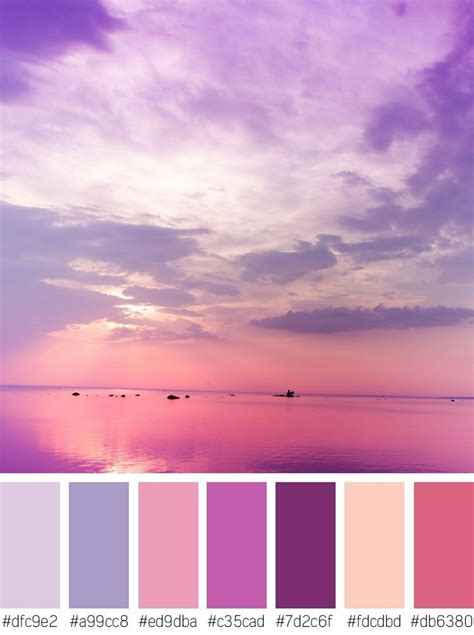 color sunset purple sunset stock photos color palette color