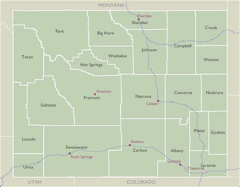 zip code map wyoming county zip code maps of wyoming
