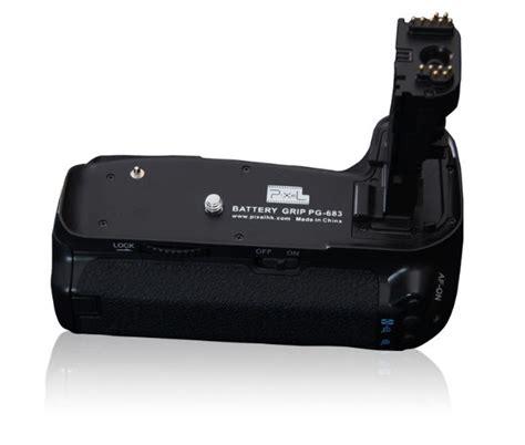 Baterai Grip Canon 60d pixel battery grip e9 for canon eos 60d