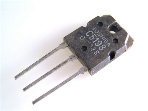 transistor npn use 2sc5198 toshiba transistor silicon npn diffused type power use jpg