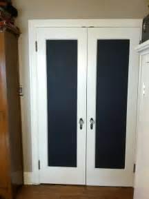 walk in closet doors kathy schmitz chalkboard doodle doors