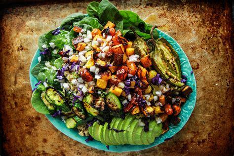 vegetables quinoa vegan roasted vegetable quinoa salad christo