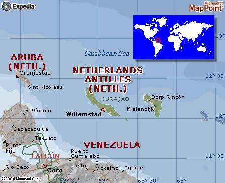 map of netherlands antilles netherlands antilles