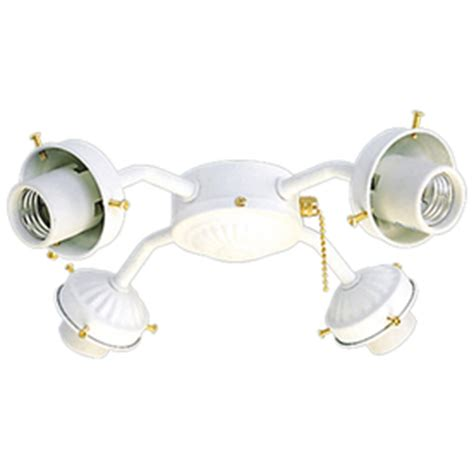 harbor breeze bathroom fan parts shop harbor breeze 4 light textured white a 15 medium base