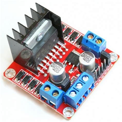 Lu Led Motor Lu Led Motor l298n voltaj regulat 246 rl 252 199 ift motor s 252 r 252 c 252 kart箟 k箟rm箟z箟
