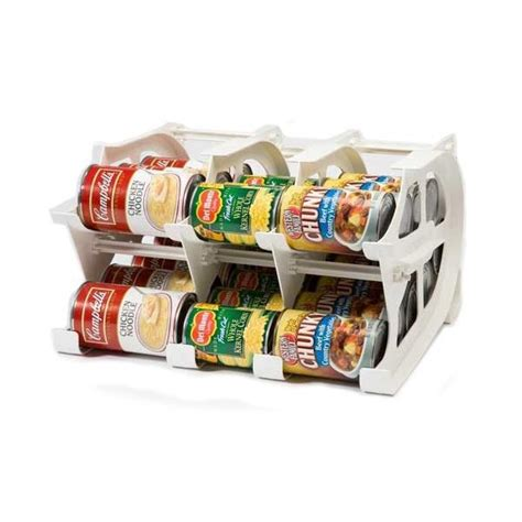 Pantry Organizers For Canned Foods by Fifo Fifo Mini Can Tracker Food Storage Canned Foods Organizer Rotater Dispenser Kitchen
