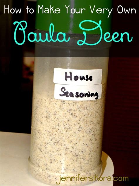 paula deen house seasoning how to make your very own paula deen house seasoning jen around the world