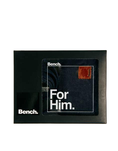 bench wallet for men bench belt and wallet gift set in blue for men lyst