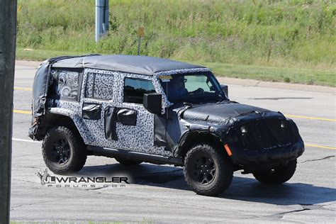 2018 wrangler soft top jlu soft top spied page 2 2018 jeep wrangler forums