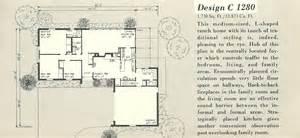 Vintage House Plans 1280a Antique Alter Ego Vintage L Shaped House Plans