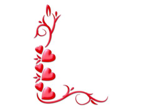 valentines picture frame photoshop png frames wallpapers designs corners