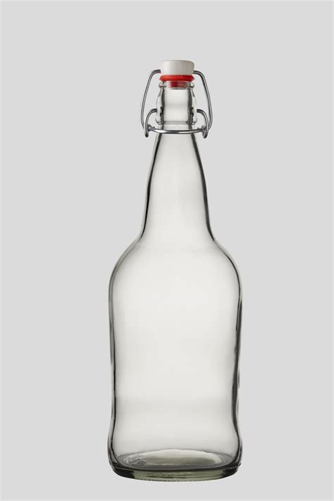1 liter swing top bottles 1 liter 32oz flint e z cap swing flip top glass bottles