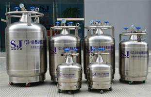 Stainless Steel Storage Container - liquid nitrogen container cryogenic container dewar shengjie china manufacturer
