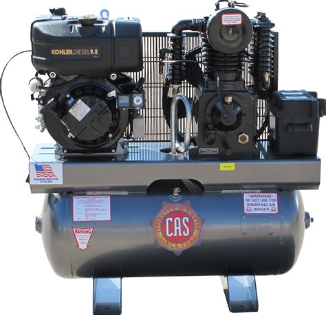 tank mounted reciprocatingpiston diesel air compressors