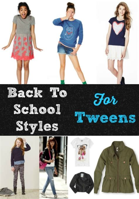 Back To School Hairstyles For Tweens | back to school clothes and styles for tween girls