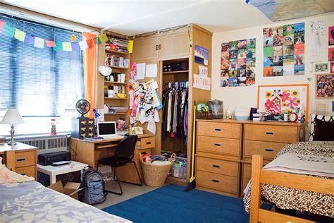 college moves     dorm room feel  home