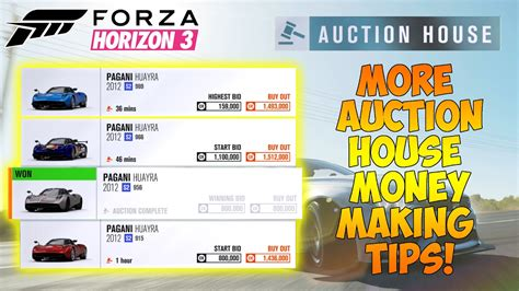 buy house from auction forza horizon 3 auction house money making method more tips youtube