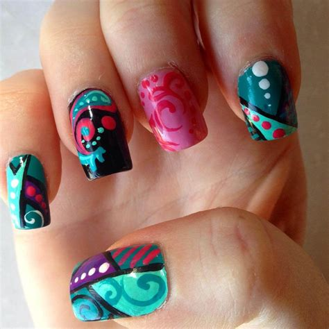 colorful nail 26 colorful nail designs ideas design trends