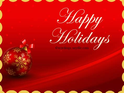 background for messages white happy holidays text on background greeting card