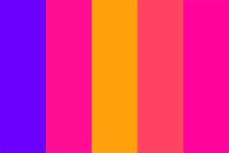 color fade glock fade color palette