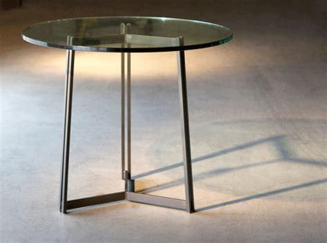Sleek Modern Iron Dining Tables by Charleston Forge
