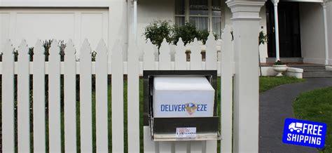 door to door parcel delivery australia stainless steel custom parcel letterbox parcelbox drop box